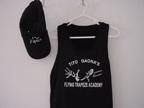 Black tank top and matching cap