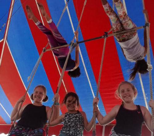 multiple-trapeze